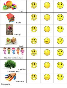 childs questionnaire